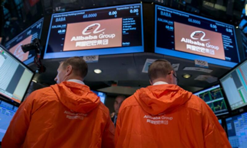 Alibaba realizó la mayor Oferta Pública Inicial en la historia de Wall Street. (Foto: Reuters)