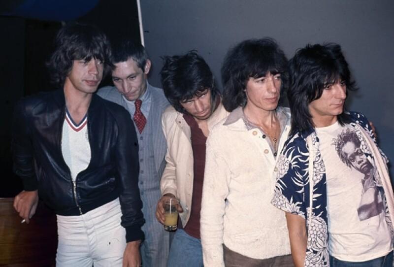 Mick Jagger, Charlie Watts, Keith Richards, Bill Wyman y Ron Wood.
