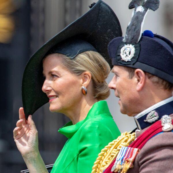 Sophie, condesa de Wessex y el príncipe Edward