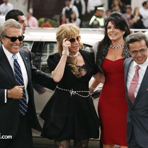 Jaime y Tony Camil con Mariana Tort y Carlos Peralta