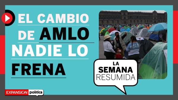 #LaSemanaResumida | Los cambios de AMLO y la consulta no FRENAn las disputas