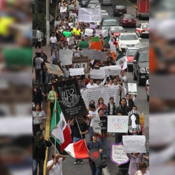 protesta contra peña nieto en xalapa