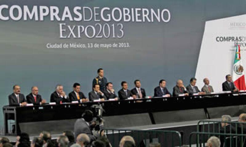 El presidente Peña Nieto señaló que lo que se desea es que las Mipymes sean más competitivas. (Foto: Notimex)