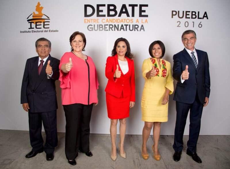 Candidatos a la gubernatura de Puebla.