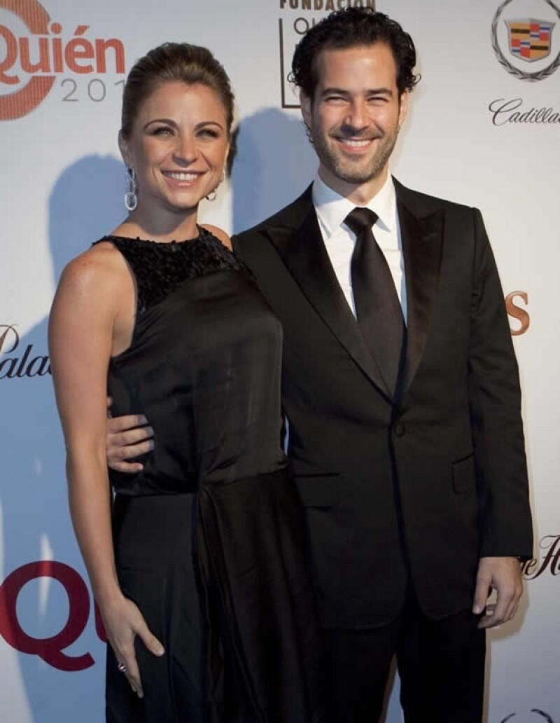 Ludwika y Emiliano en la gala de Quién 50.