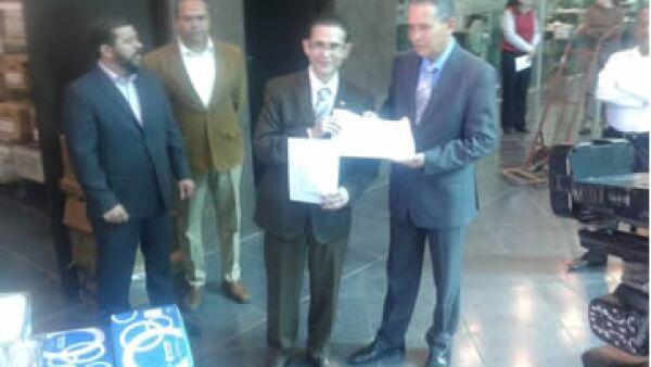 Alejandro Campa Avitia, aspirante a candidato independiente de Durango. (Foto: Twitter)