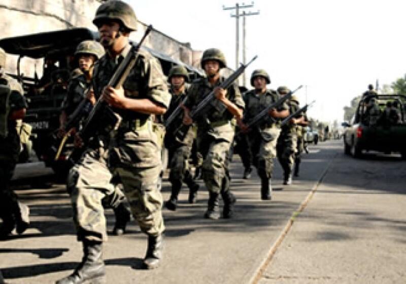 En lo que va del sexenio, la CNDH ha recibido 2,200 quejas por presuntas violaciones del Ejército a los derechos humanos. (Foto: Notimex)