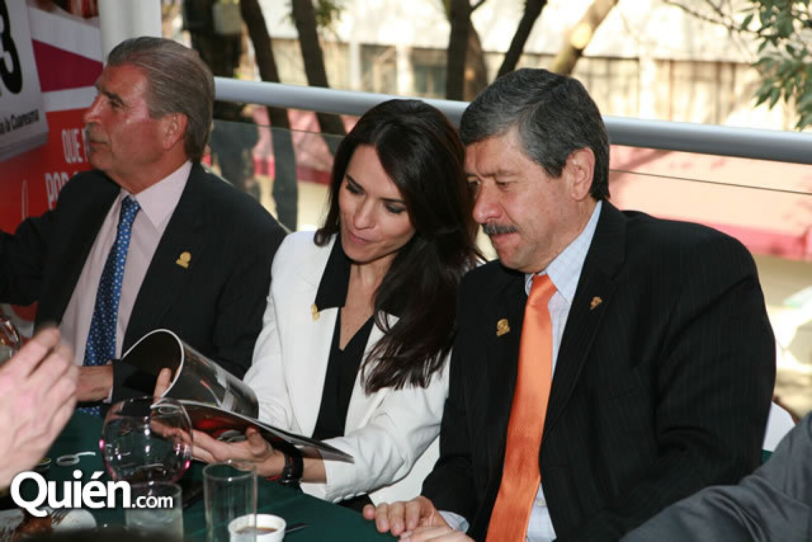 Luis Gálvez, Laura Ortega e Ignacio Tatto