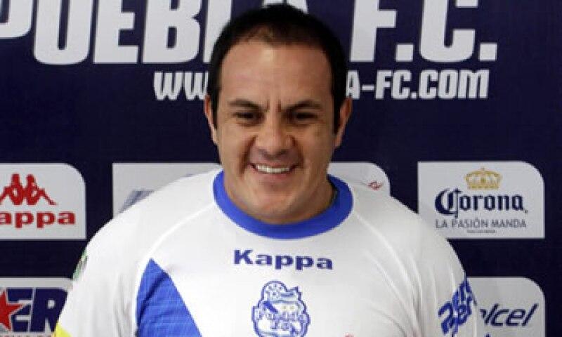 Blanco debutará con el Puebla en el Torneo de Apertura. (Foto: Cuartoscuro)
