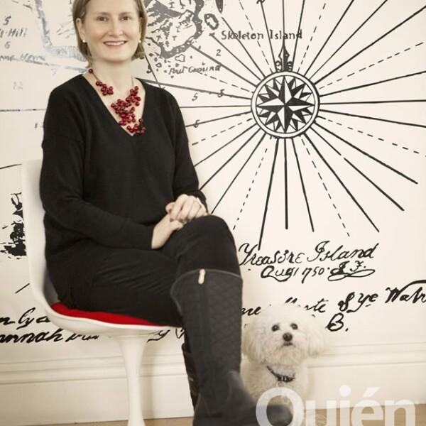 Ana Elena Mallet, curadora independiente. Ha logrado poner el diseño mexicano en la mira a nivel mundial.