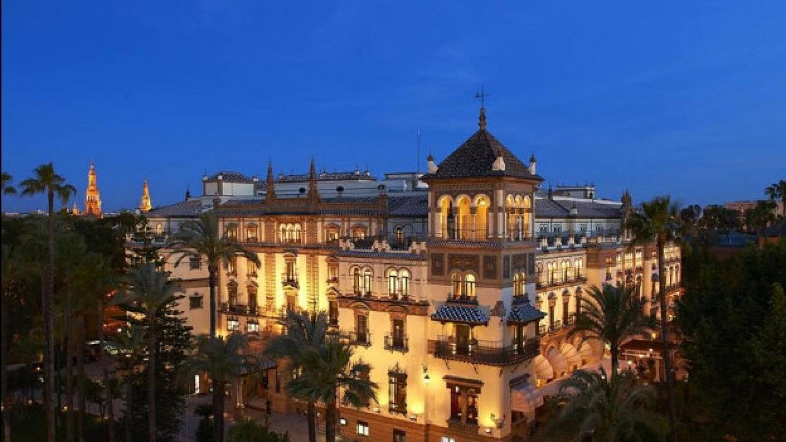 Hotel Alfonso XIII locacion Lawrence of Arabia