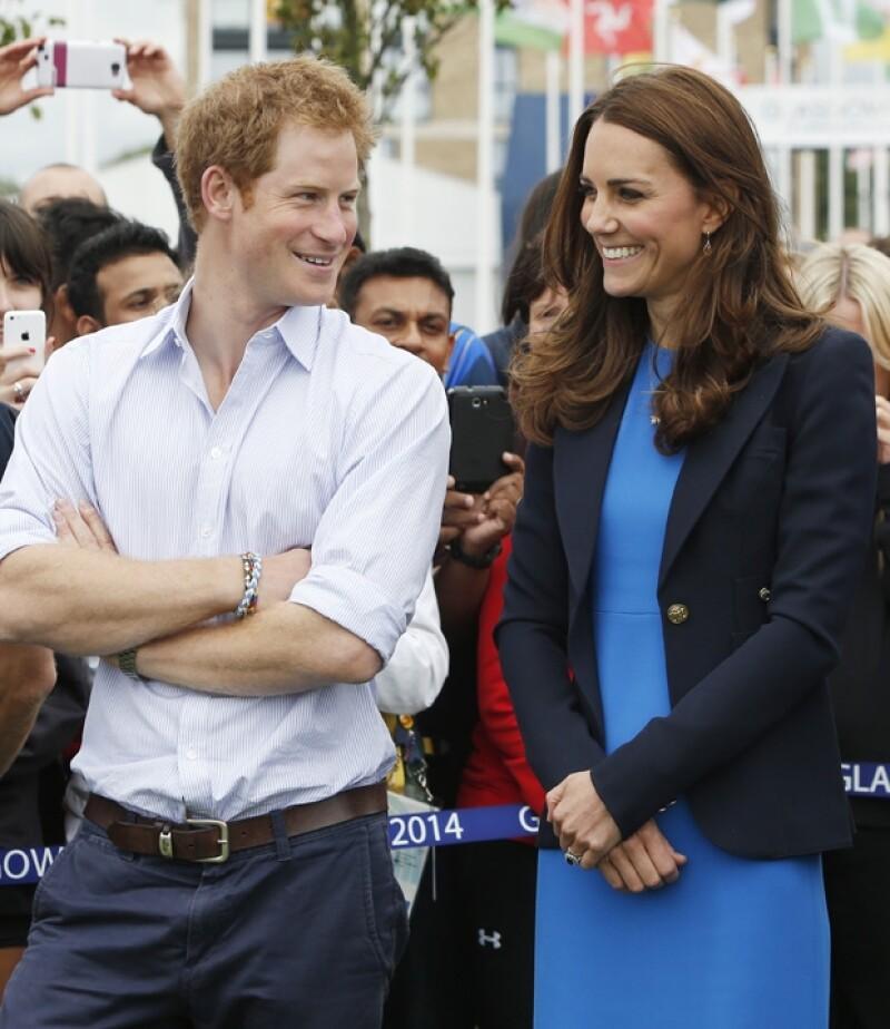 El hermano de su esposo, príncipe Enrique habló el día de hoy sobre su estado de salud.