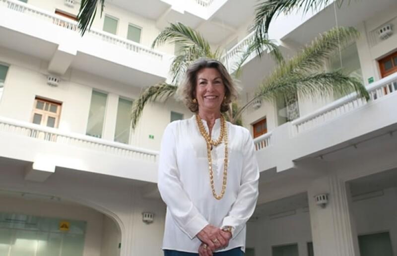 Este año la fundadora de la Asociación Amigos del Museo de Arte Popular se caracterizó por apoyar a los más vulnerables, la vimos en varios eventos de beneficencia.