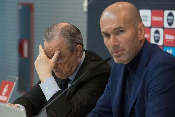 Zidane DT Real Madrid