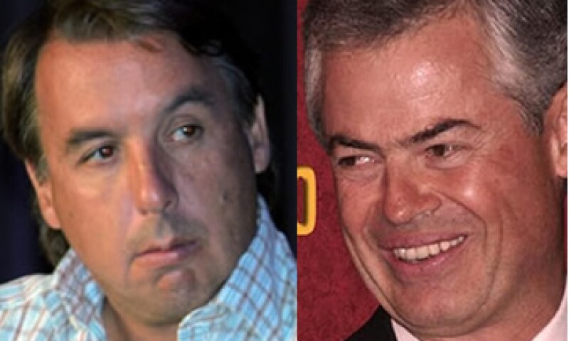 Si Emilio Azcárraga (izq) acepta, Joaquín Vargas dijo que participará en un debate sobre las frecuencias. (Foto: Especial)