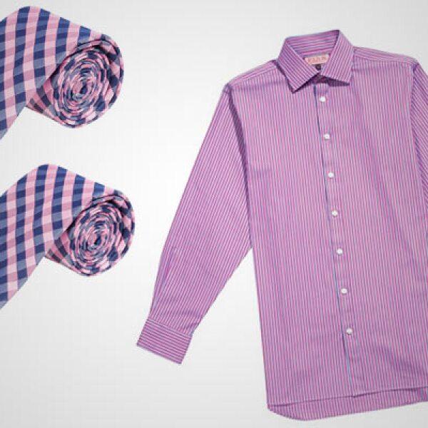 La firma inglesa lanzó su colección para primavera/verano 2011, en donde se combinan colores como el violeta, rosa y magenta.