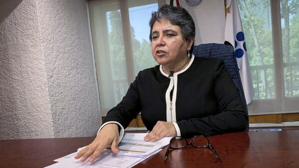 Raquel Buenrostro, jefa del Servicio de Administración Tributaria (SAT)