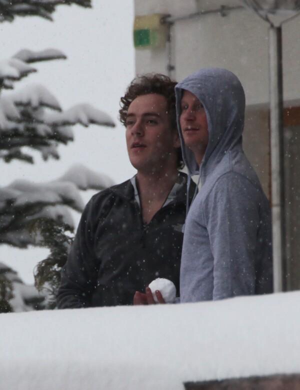 """príncipe Harry y Tom """"Skippy"""" Inskip"""