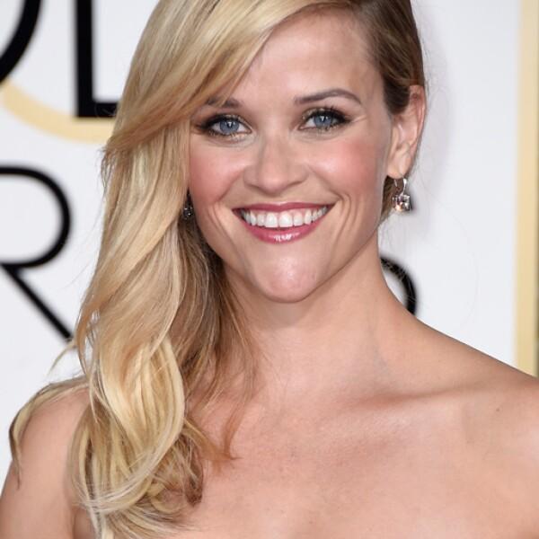 Reese Witherspoon deslumbró con un unos aretes de diamantes de $600,000 dólares de Tiffany & Co.