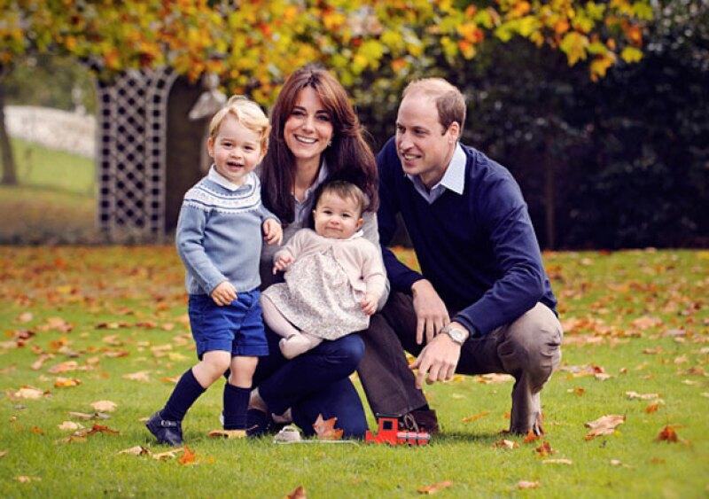Los Duques de Cambridge viven en el Palacio de Kensington.
