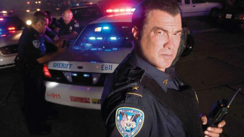 Steven Seagal ahora es un policía de la vida real.