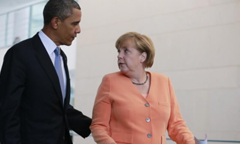 Obama dijo que no podía dañar la relación con Alemania. (Foto: Reuters)