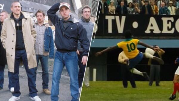 'Hooligans' y 'Pelé: Birth of a Legend'