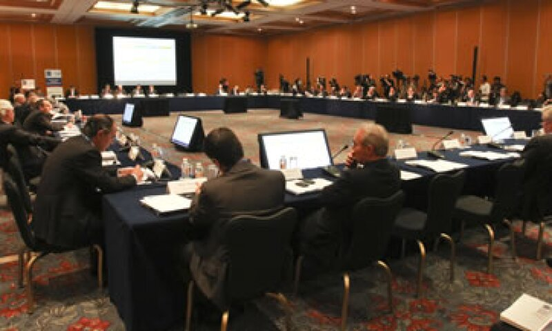 La primera reunión de ministros de finanzas y gobernadores de Bancos Centrales del G20 inició este viernes en la Ciudad de México. (Foto: Notimex)