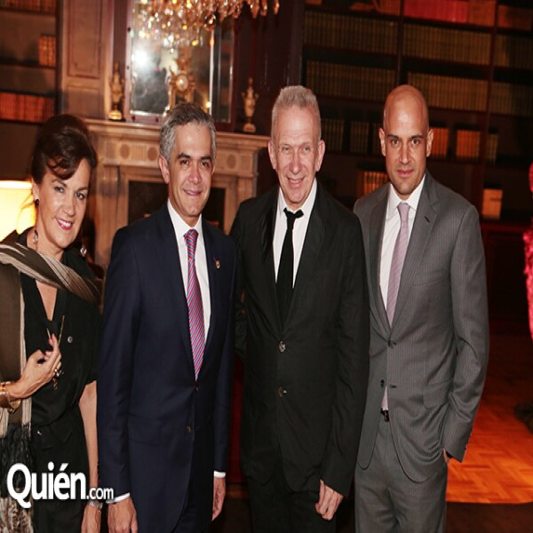 Elisabeth Beton,Miguel Ángel Mancera,Jean Paul Gaultier,Manuel Rivera