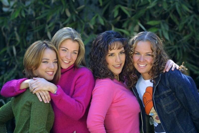 Ludwika Paleta presumió una fotografía de su tiempo en la exitosa telenovela juvenil.
