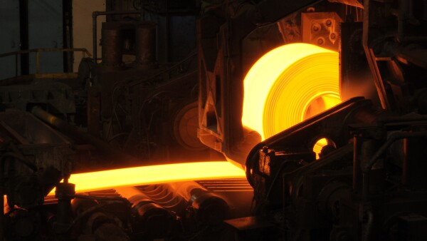 Hot Steel Rolls Manufacturing Process