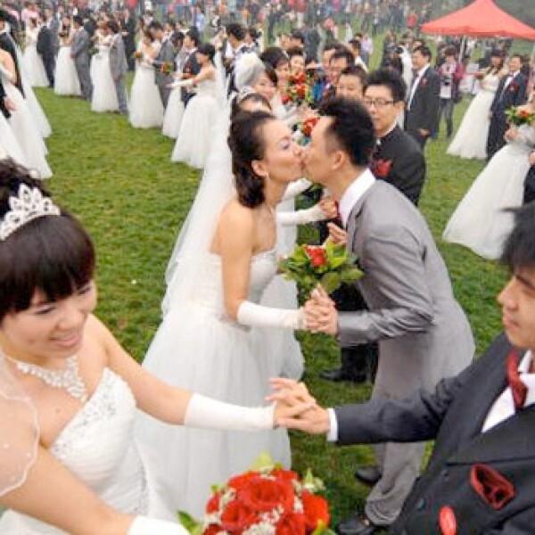 El divorcio repunta en China