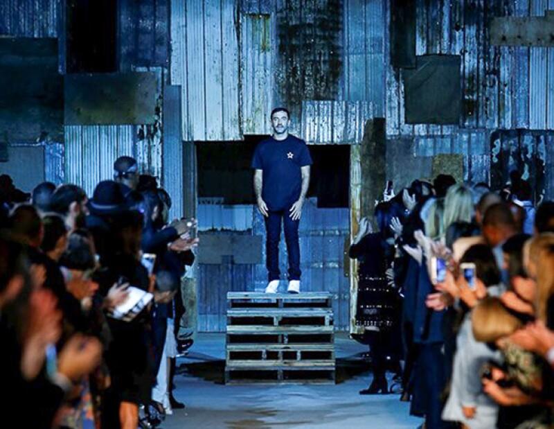 Givenchy se presentó en el Pier 26 de Nueva York.