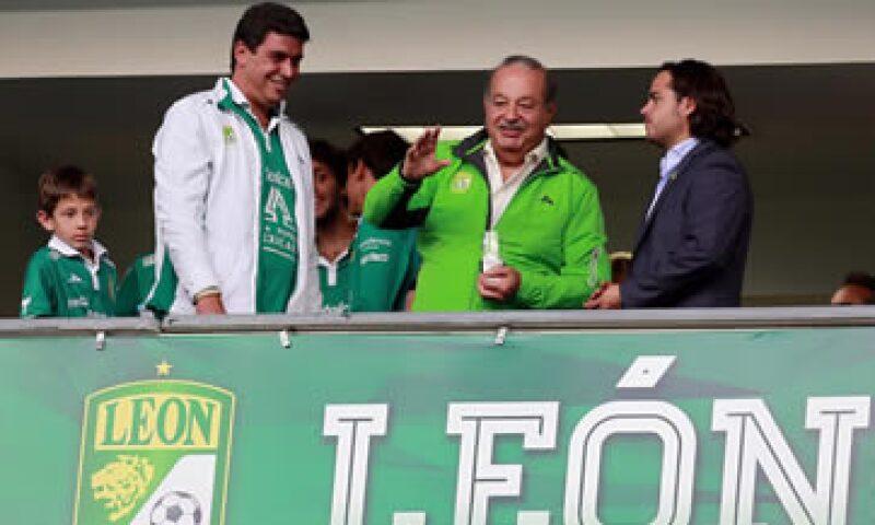 El empresario mexicano adquirió al León, actual campeón de la liga mexicana, en 2012 por 110 mdp. (Foto: Notimex)
