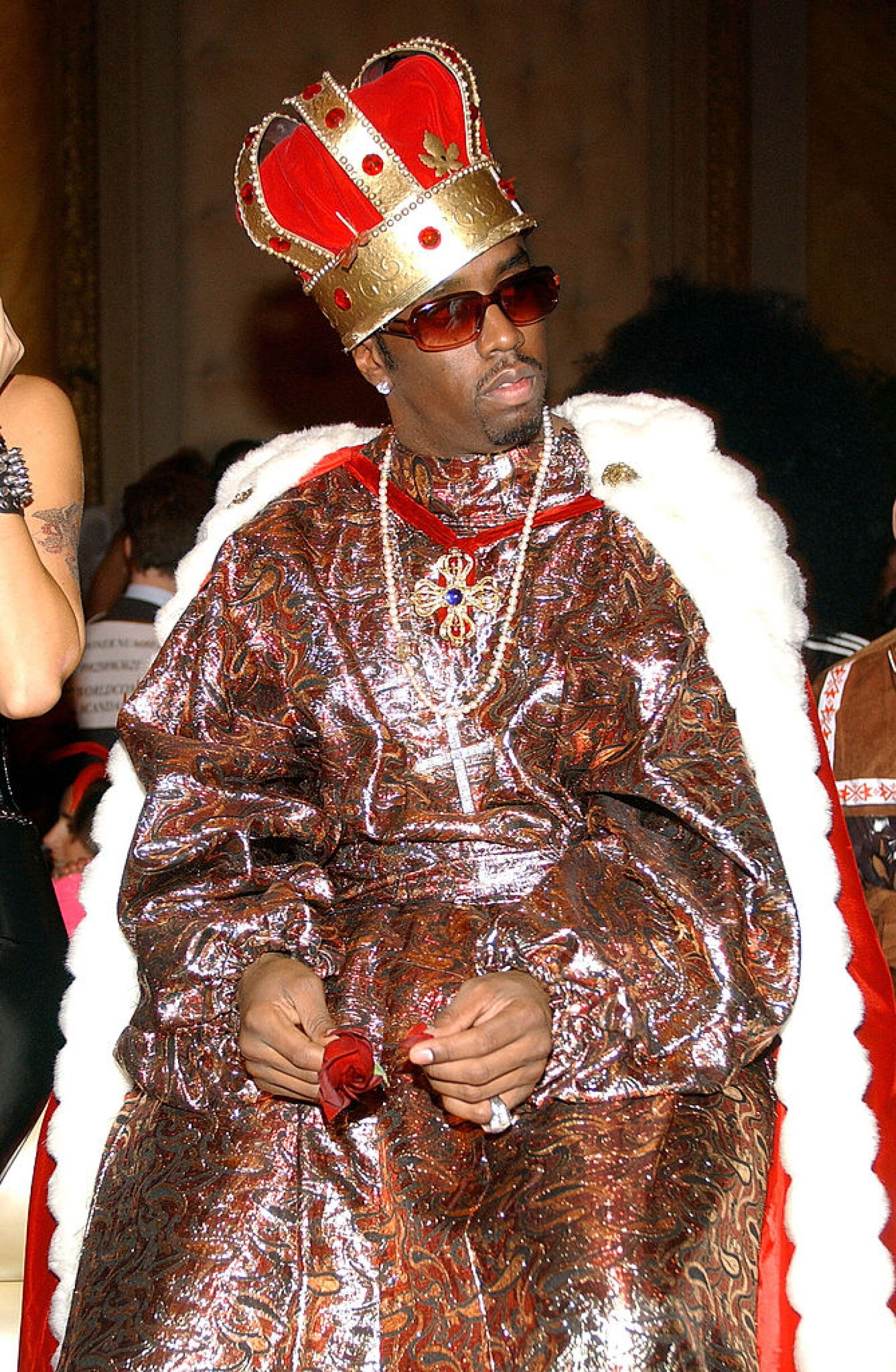 "Sean ""P.Diddy"" Combs Attends Heidi Klum's 3rd Annual Halloween Party"