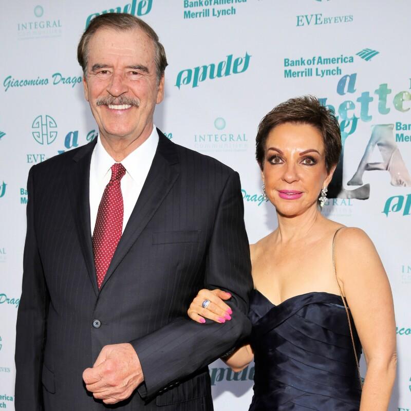 Marta Sahagún y Vicente F