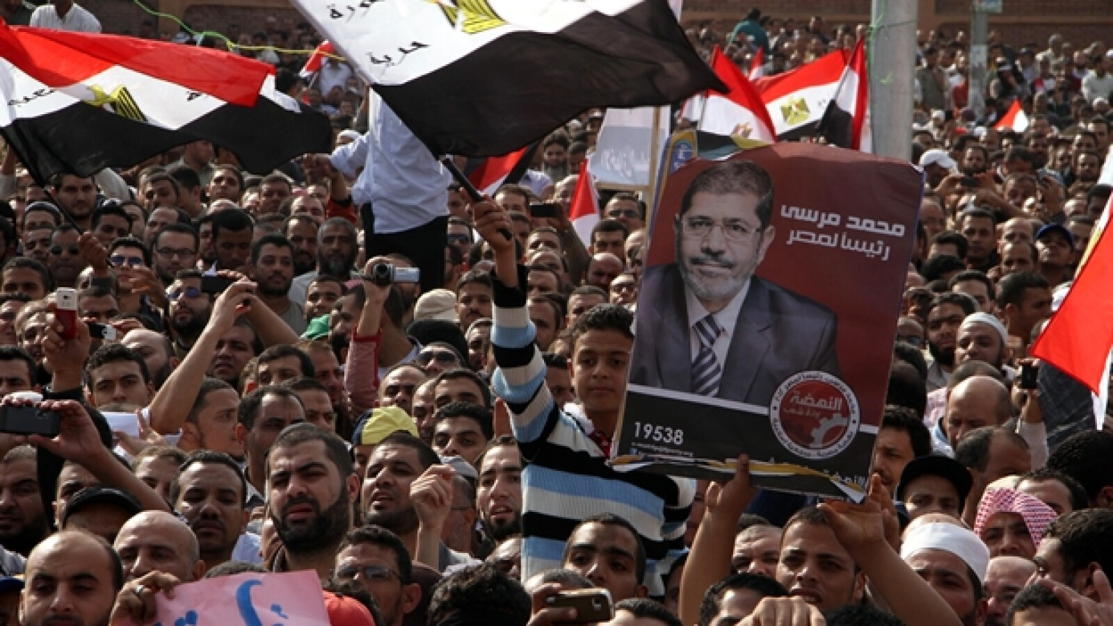 protestas a favor de morsi