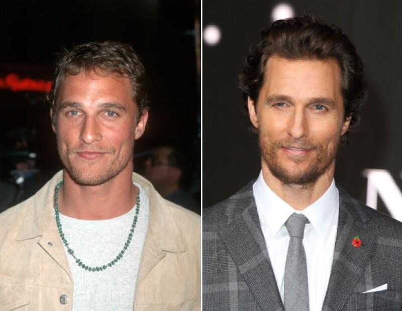 El Matthew McConaughey de los 90's se convirtió en un hombre con mayor estilo.