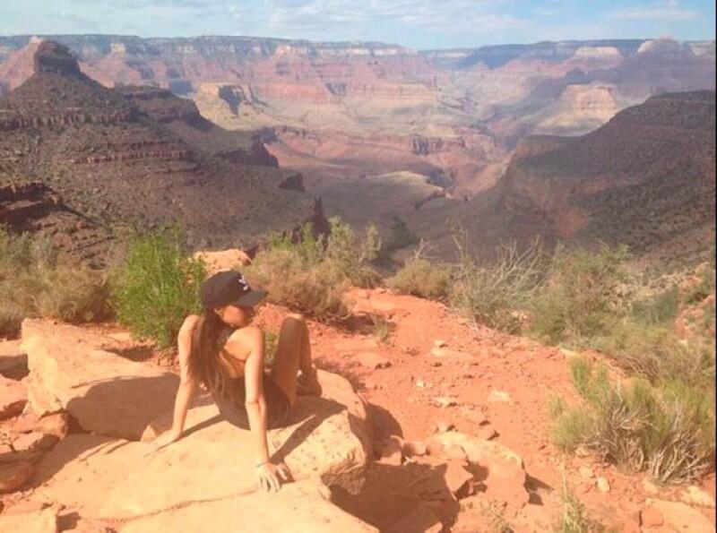Victoria pasó un relajado día en Arizona.