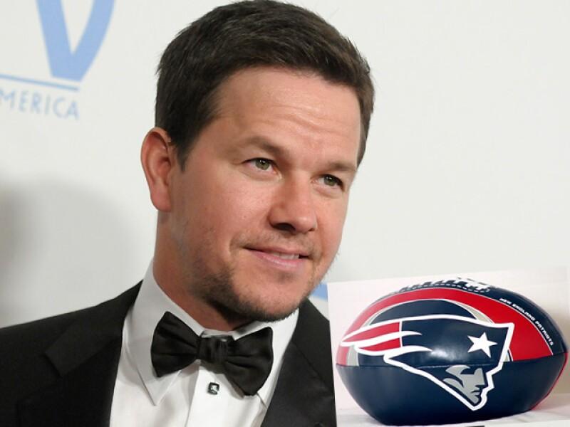 Mark Wahlberg sigue a los Patriotas de Nueva Inglaterra.