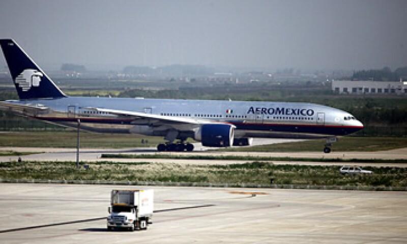 Grupo Aeroméxico incrementó su flota en el trimestre, con seis aeronaves. (Foto: AP)