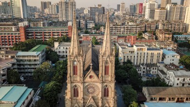 An eastern Notre Dame: Sacred Heart Cathedral in Guangzhou