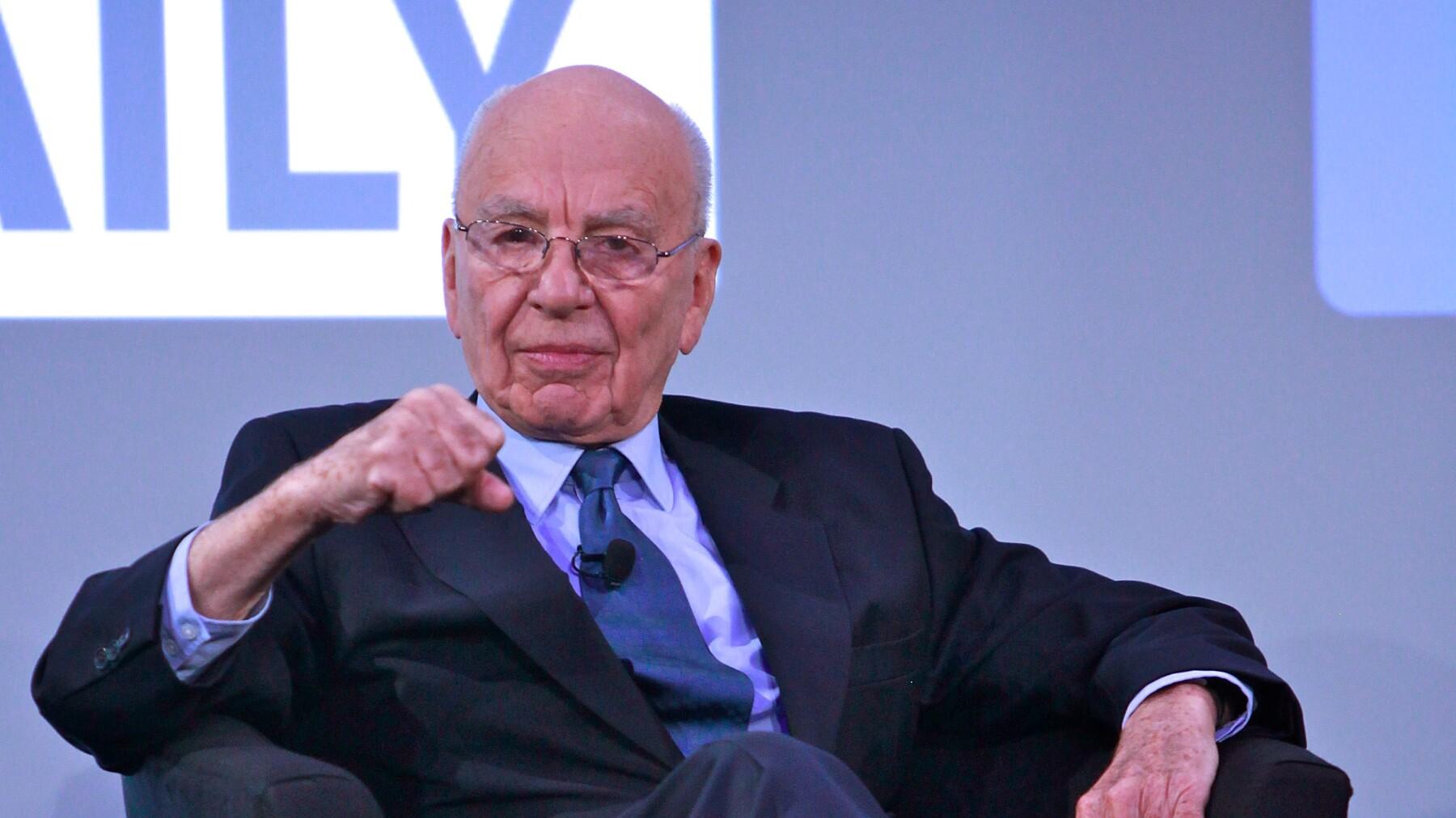 Rupert Murdoch, influyente empresario de los medios estadounidenses, respaldó recientemente la candidatura de Trump.