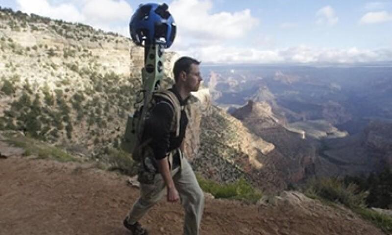 Google captura con su cámara mochilera los principales senderos del Cañón del Colorado.  (Foto: AP)
