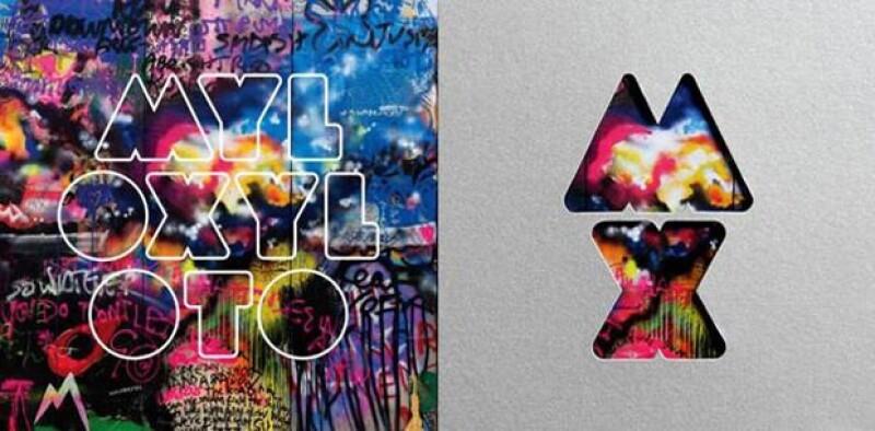 Portada del próximo disco de Coldplay, que estará a la venta en octubre.