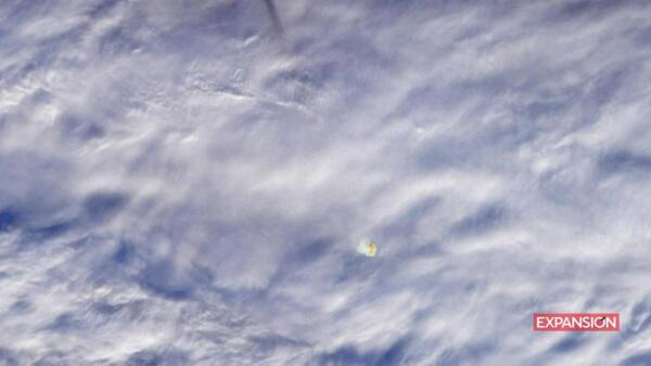 """La NASA difunde fotos del gran meteorito de 2018 que """"nadie pudo ver"""""""