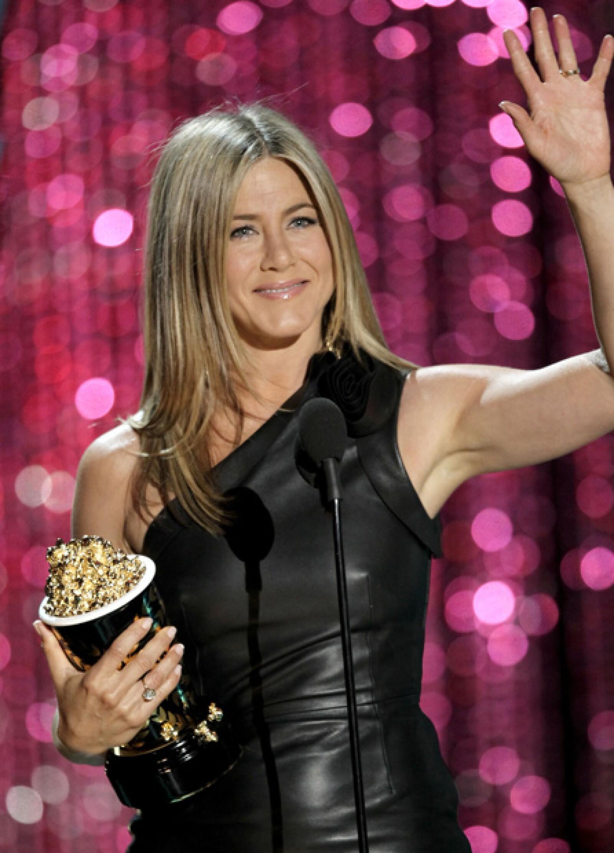 Jennifer Aniston fue reconocida como la Mejor Villana por su papel de una dentista ninfómana en Horrible Bosses.