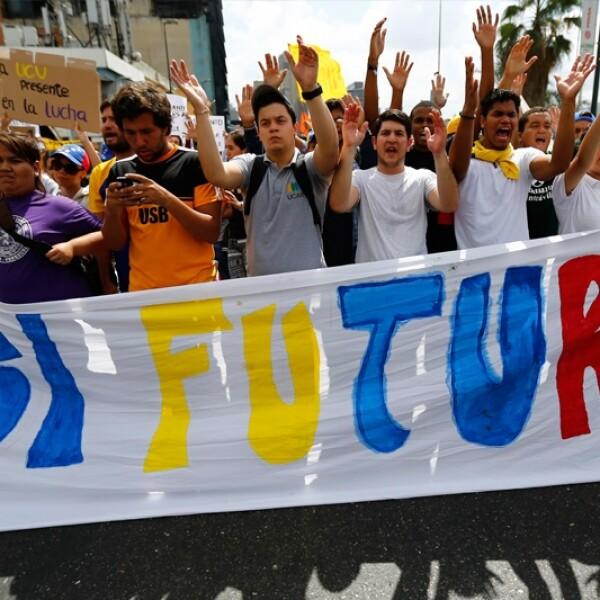 protestas Venezuela oposicion