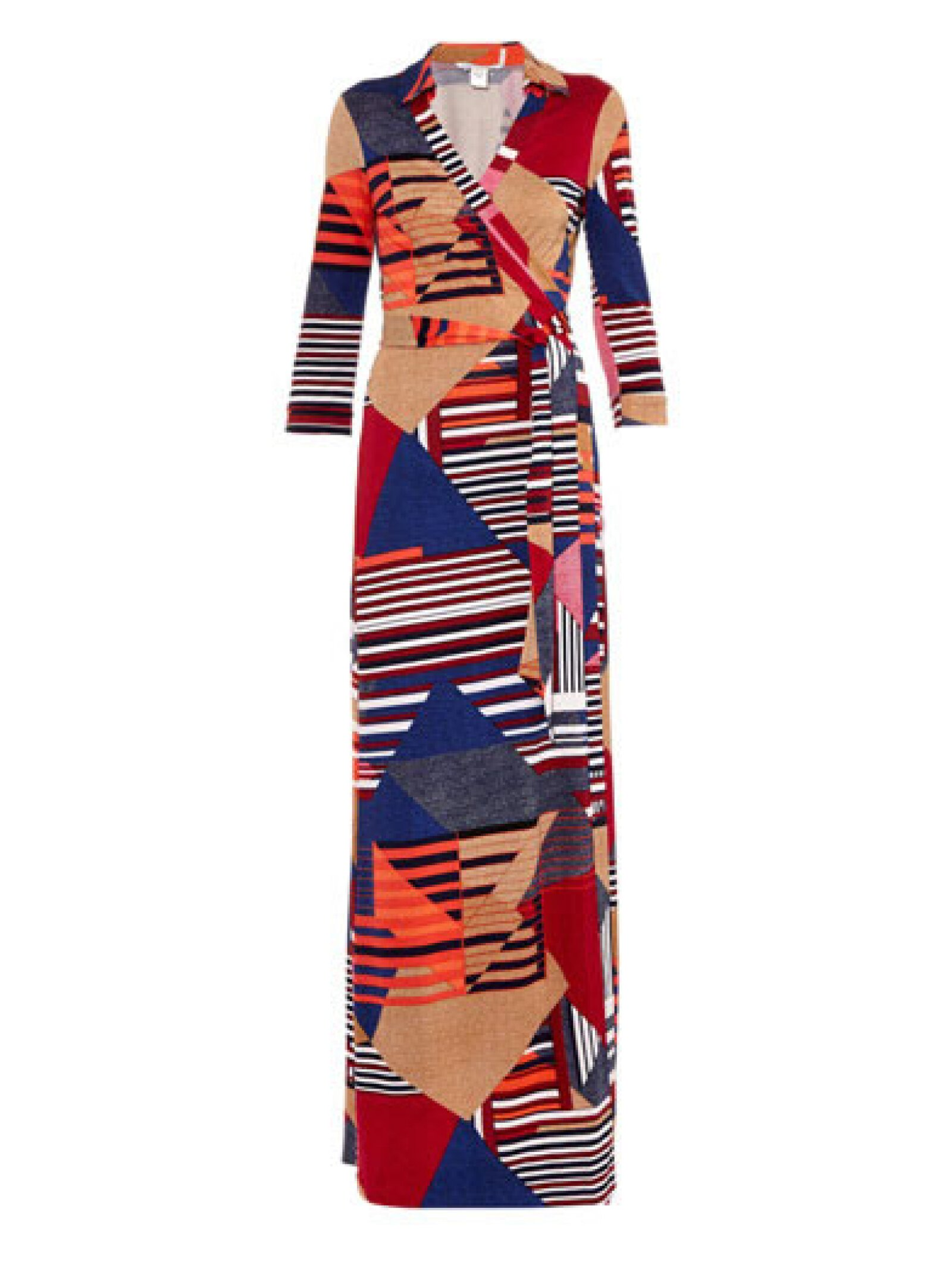 La diseñadora introdujo el vestido en 1974.