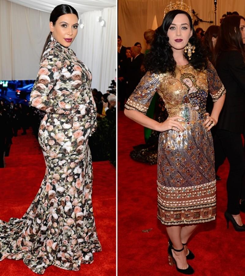 Kim Kardashian y Katy Perry.